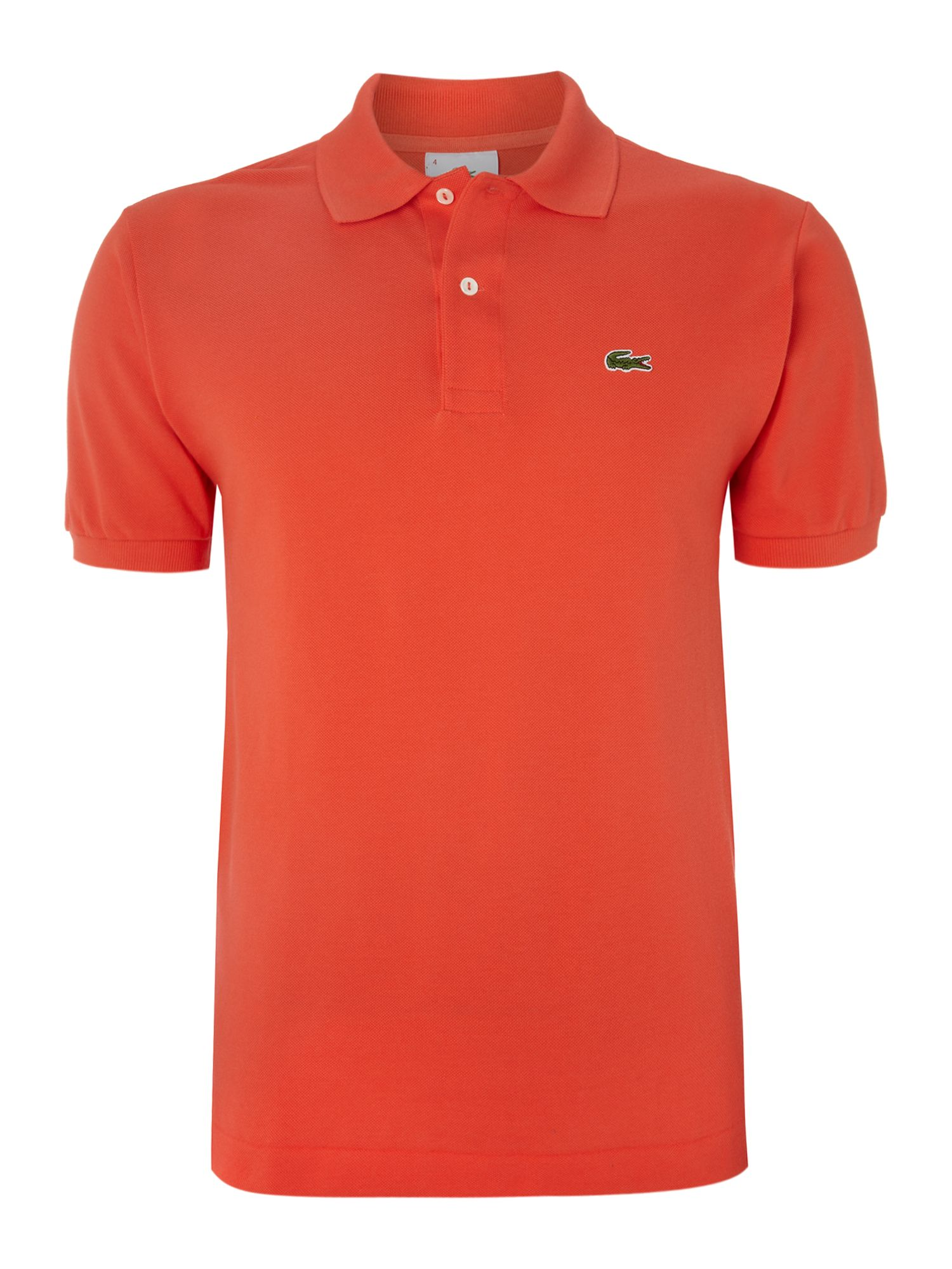 Lacoste Classic Polo Shirt In Orange For Men Lyst