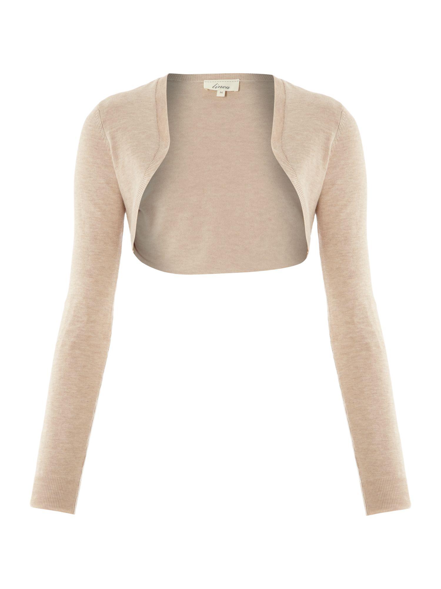 Cream Colored Shrug Sweater - Gray Cardigan Sweater
