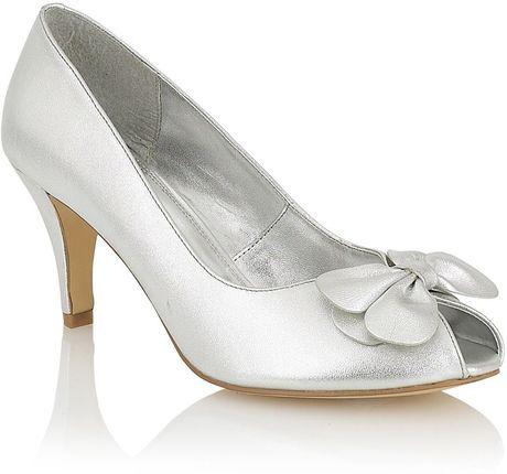 lotus jenerva formal shoes in silver lyst