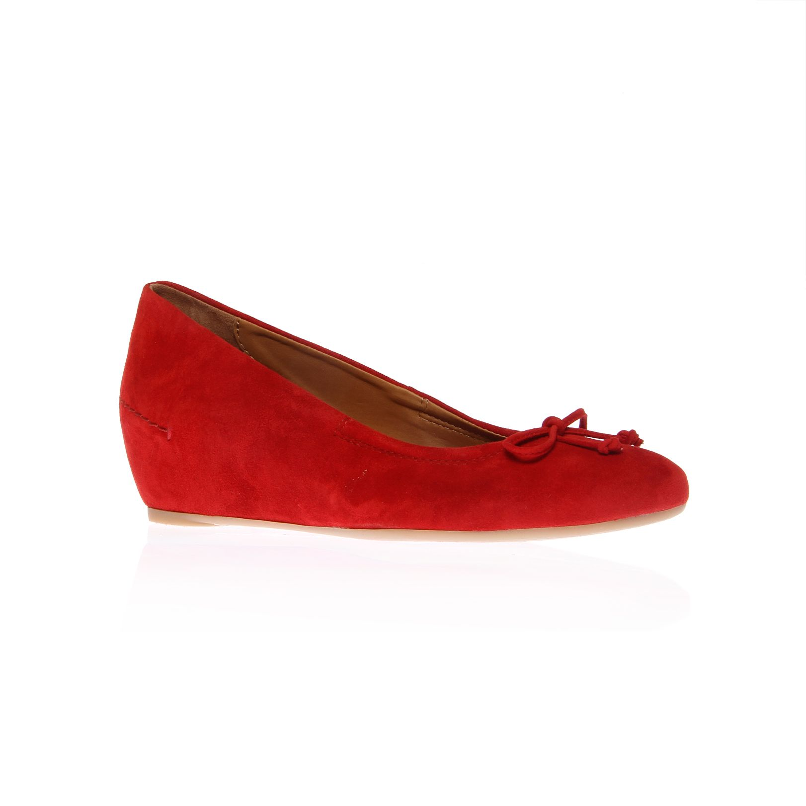 paul green puk low wedge shoes in lyst