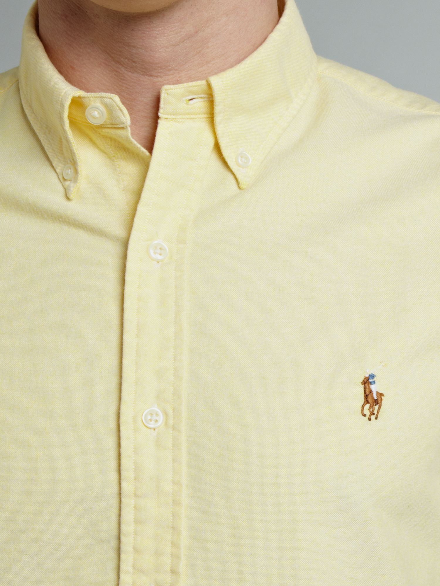 Polo Oxford Shirt Men
