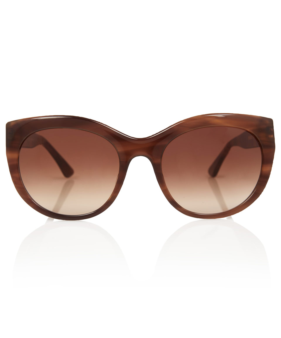 f622bdbf7e Lyst - Thierry Lasry Brown Suggesty Sunglasses in Brown