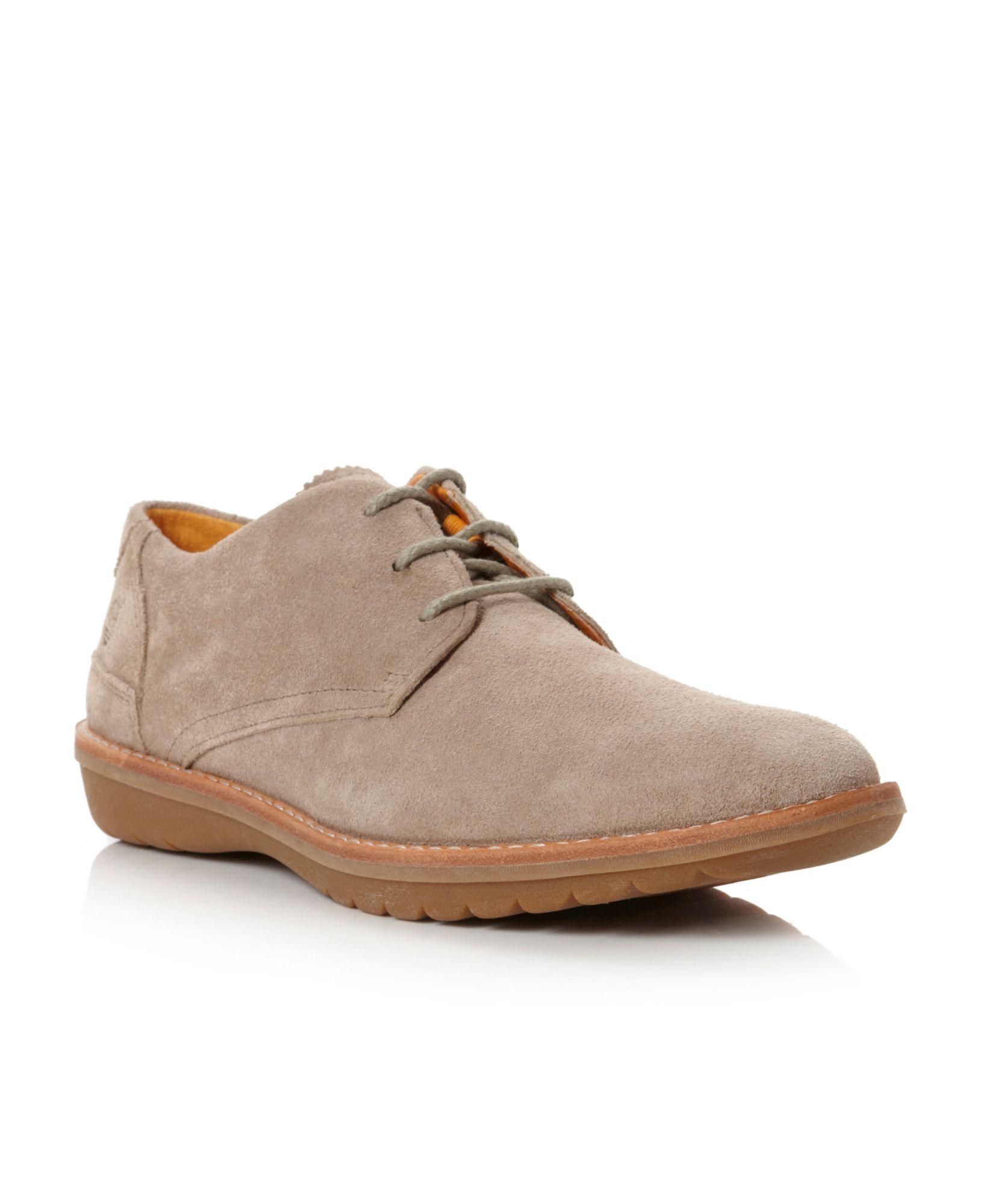 timberland suede desert shoes in beige for men grey lyst. Black Bedroom Furniture Sets. Home Design Ideas