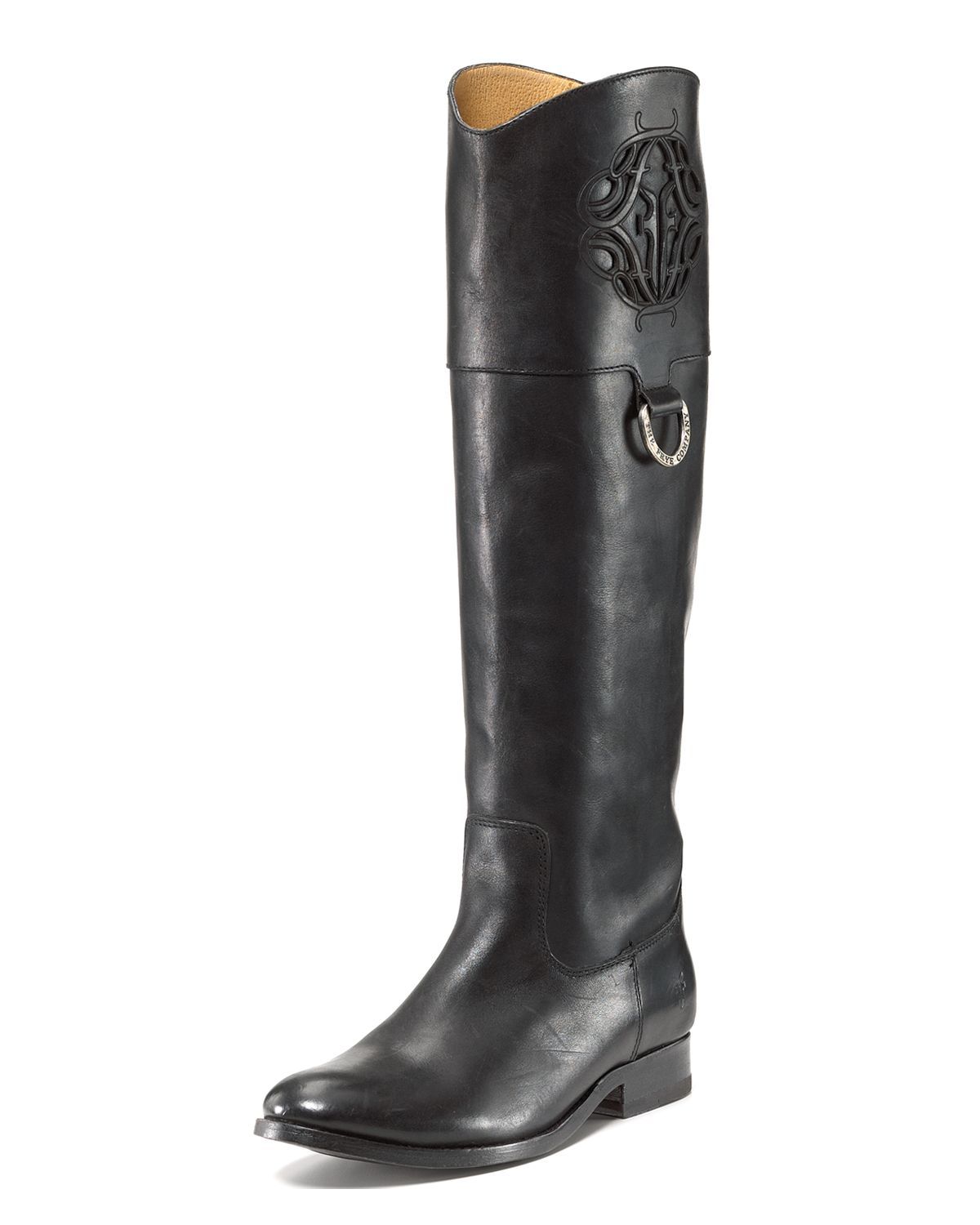 frye quotmelissaquot riding boots in black lyst