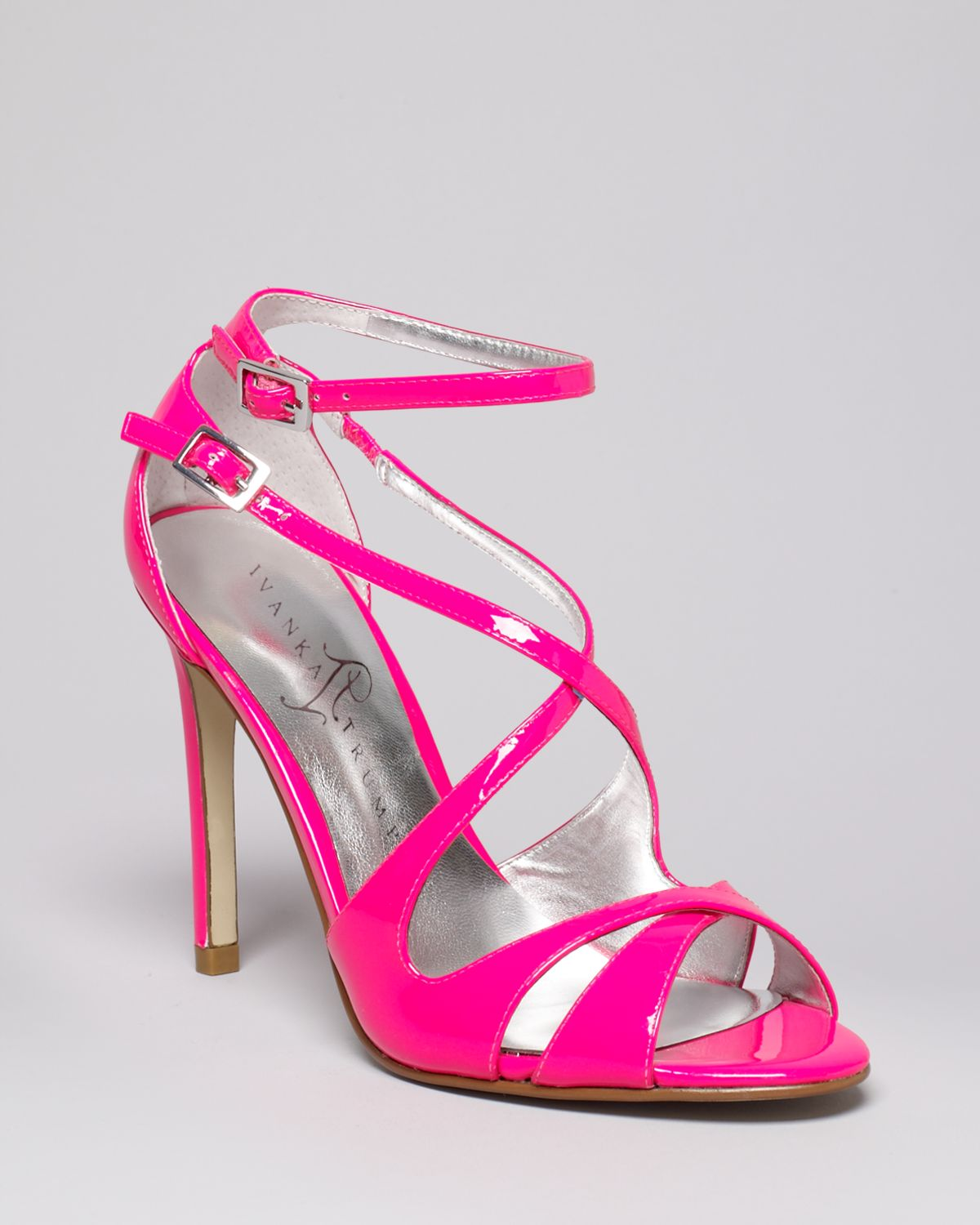 Lyst - Ivanka Trump Helice High Heel Strappy Sandals In Pink-5880