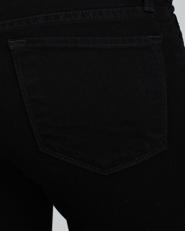 ad1178ec2150 Lyst - J Brand 811 Mid Rise Skinny Jeans In Shadow in Black