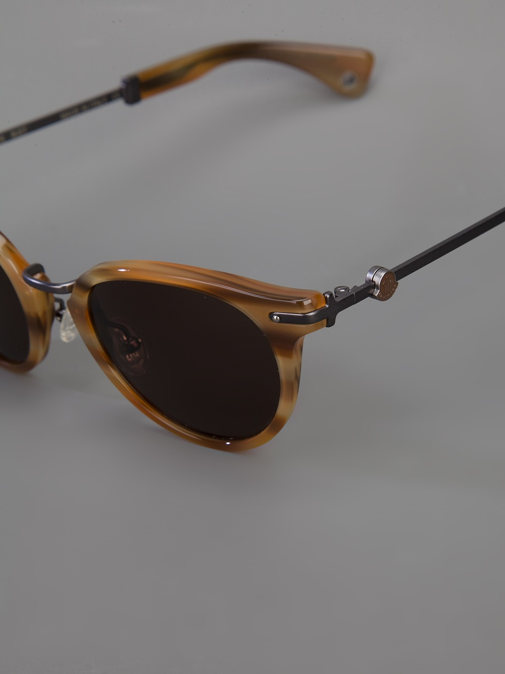 Moncler Mc504 Sunglasses In Brown Lyst