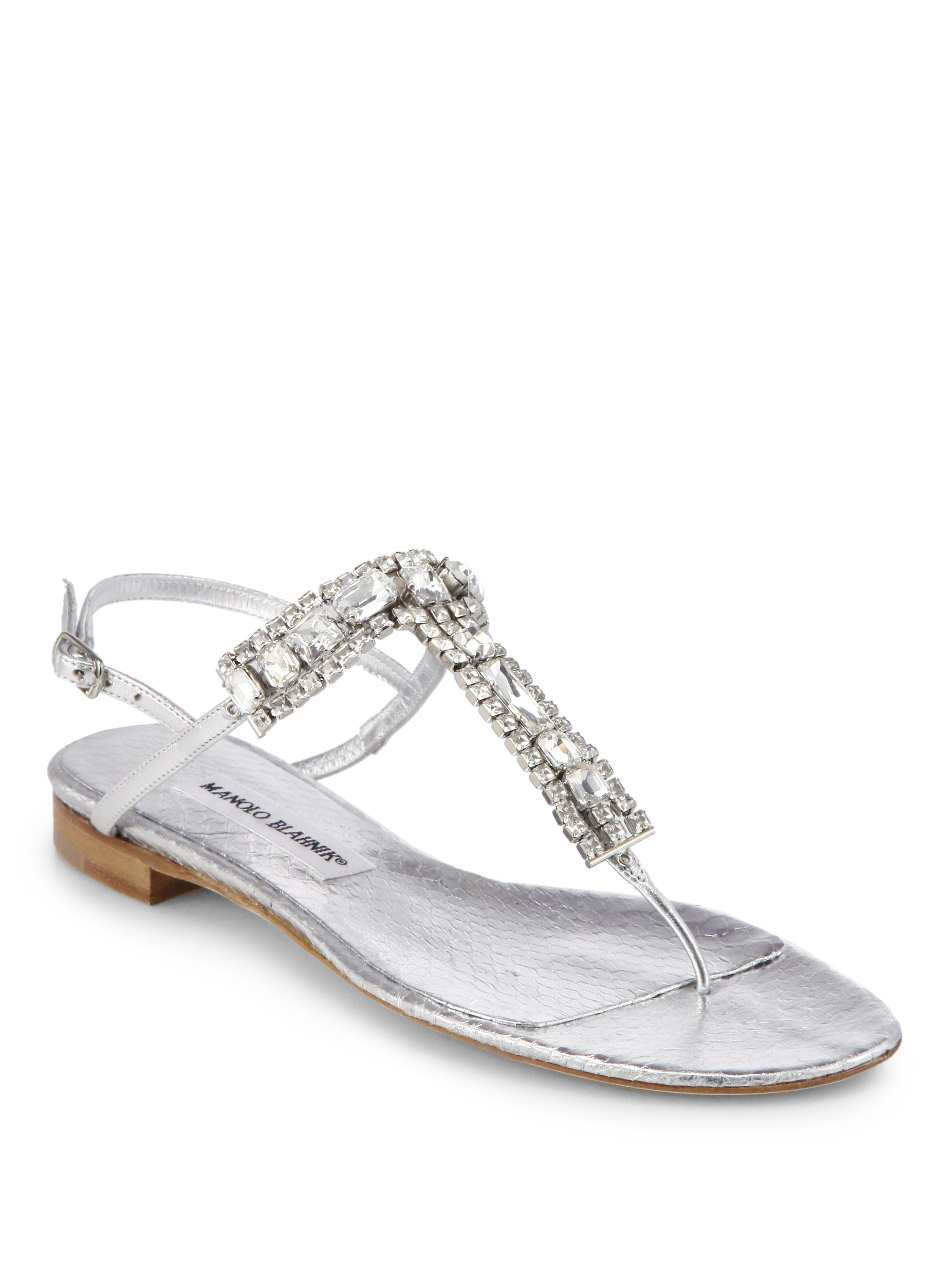 manolo blahnik flat shoes uk