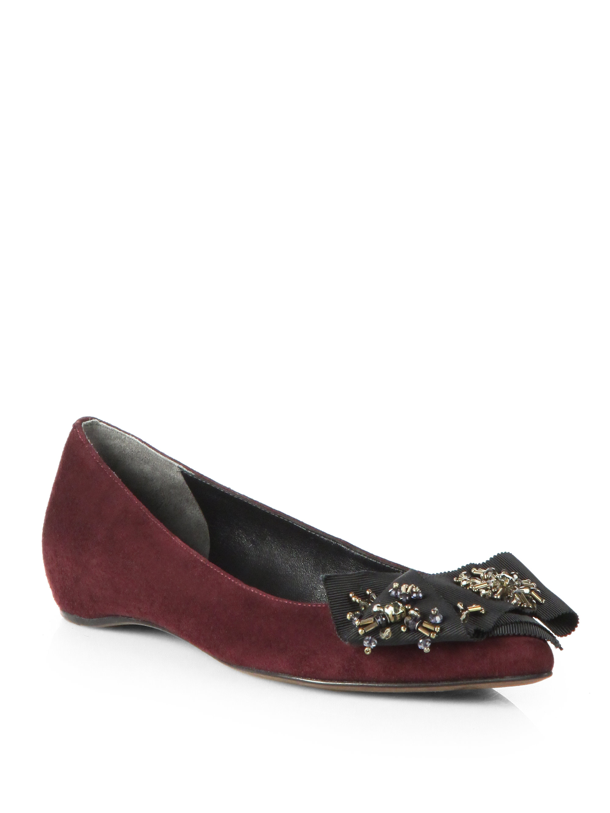 Vera Wang Lavender Flats Shoes