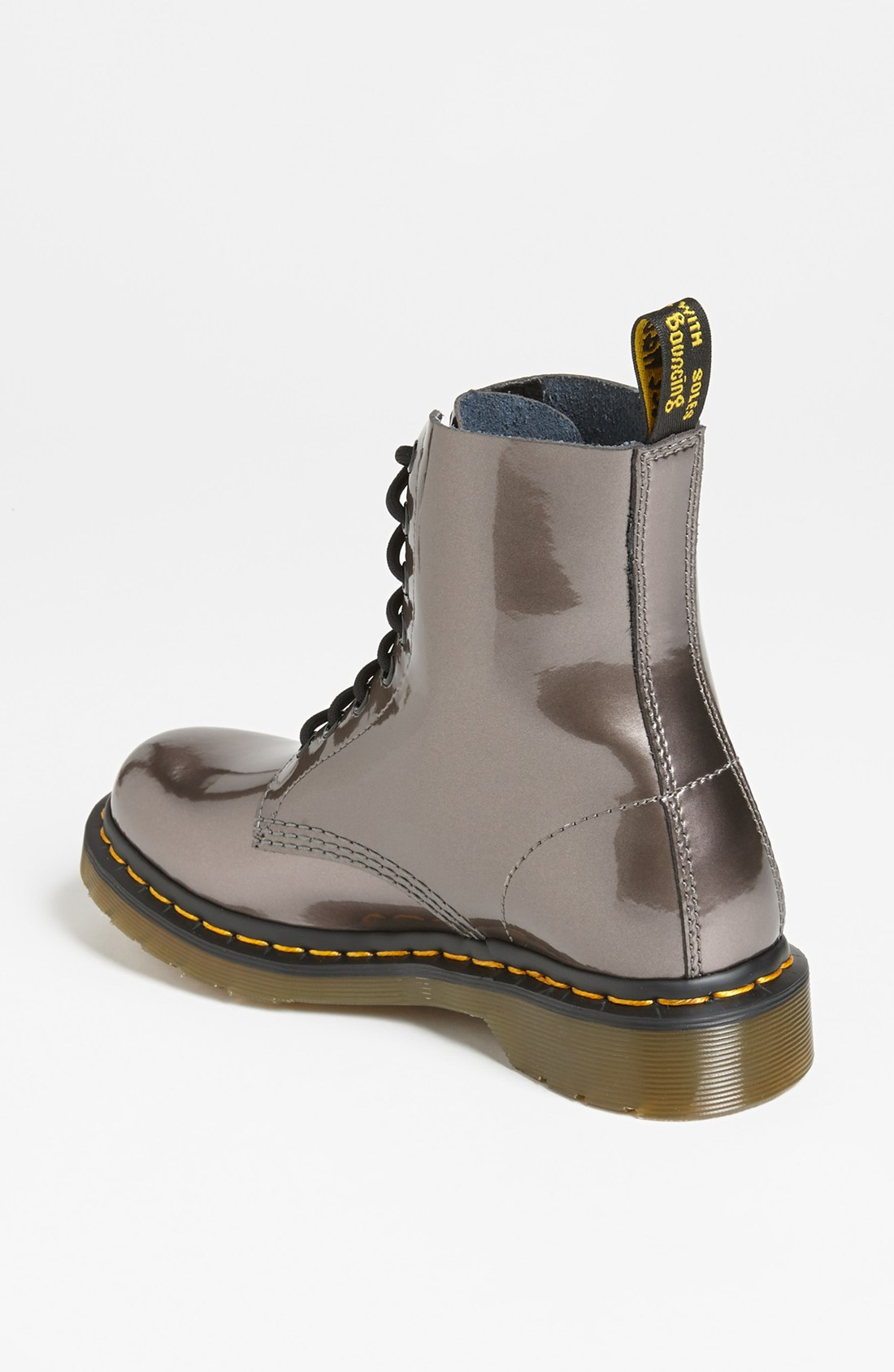 Dr Martens Pascal Boot In Silver Pewter Lyst