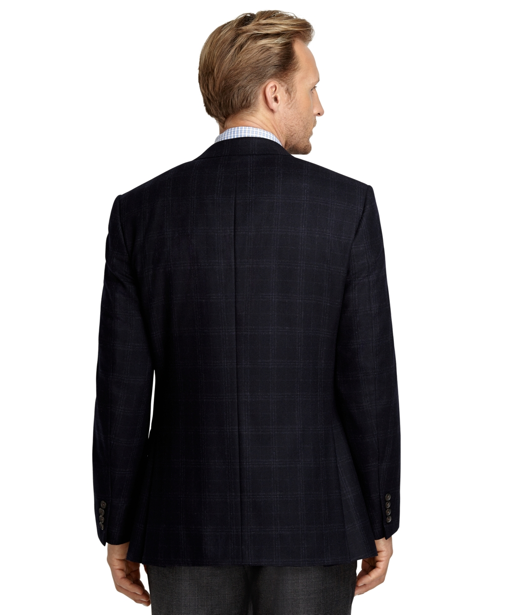 Brooks brothers Madison Fit Brushed Saxxon Wool Blazer in ...