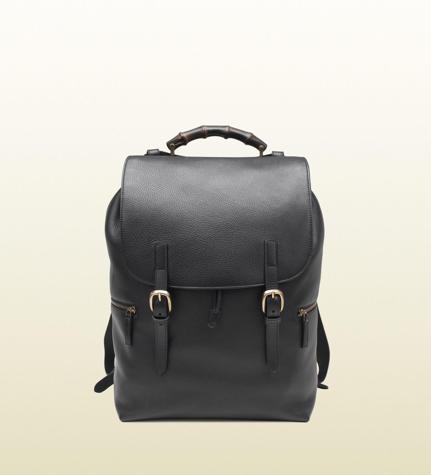 c11cde8bccc Gucci Black Leather Backpack in Black for Men - Lyst