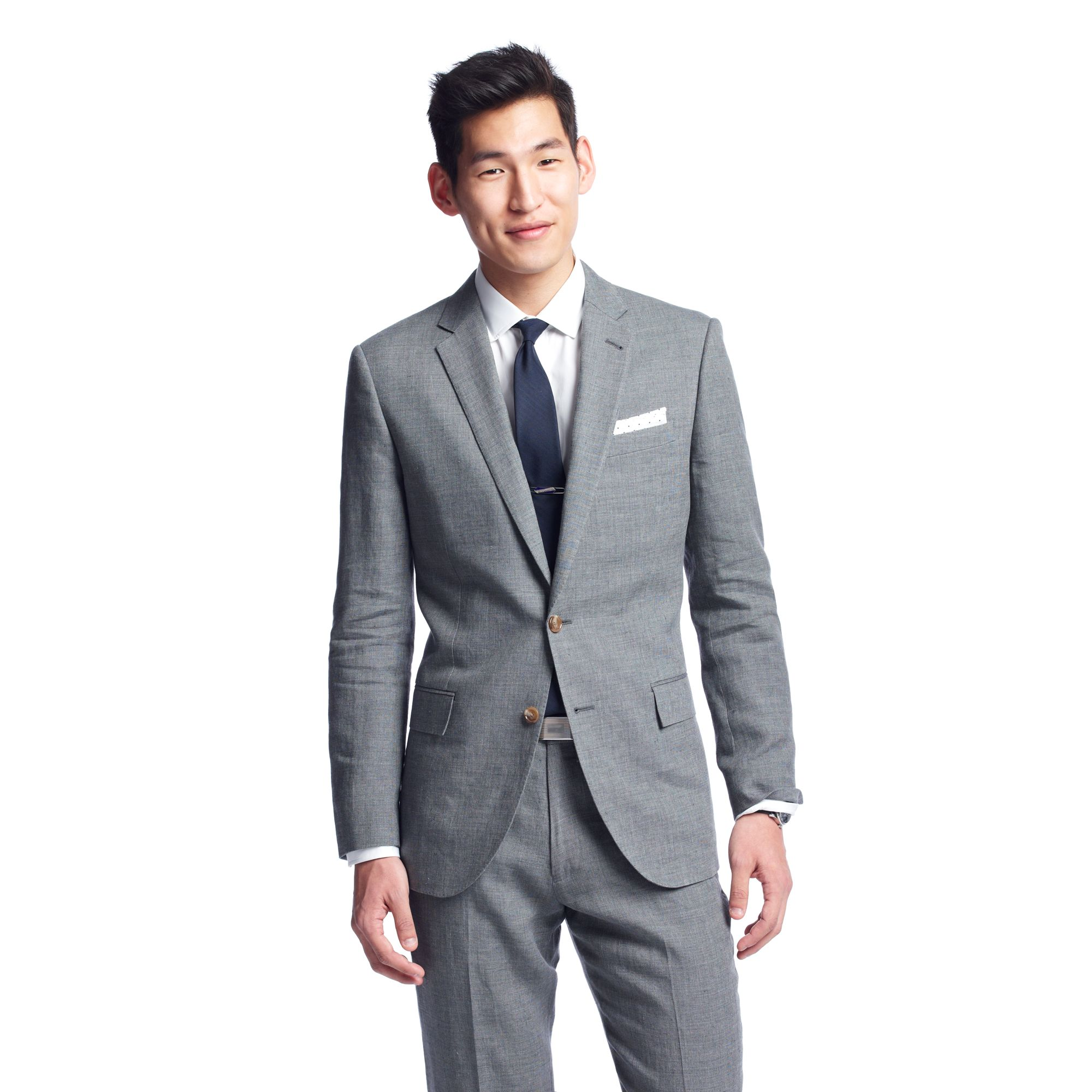 eb31b6ba73a440 J.Crew Ludlow Suit Jacket with Double Vent in Italian Linenwool in ...