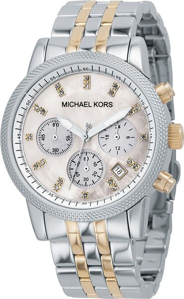michael kors mk5057 ritz stainless steel and gold plated