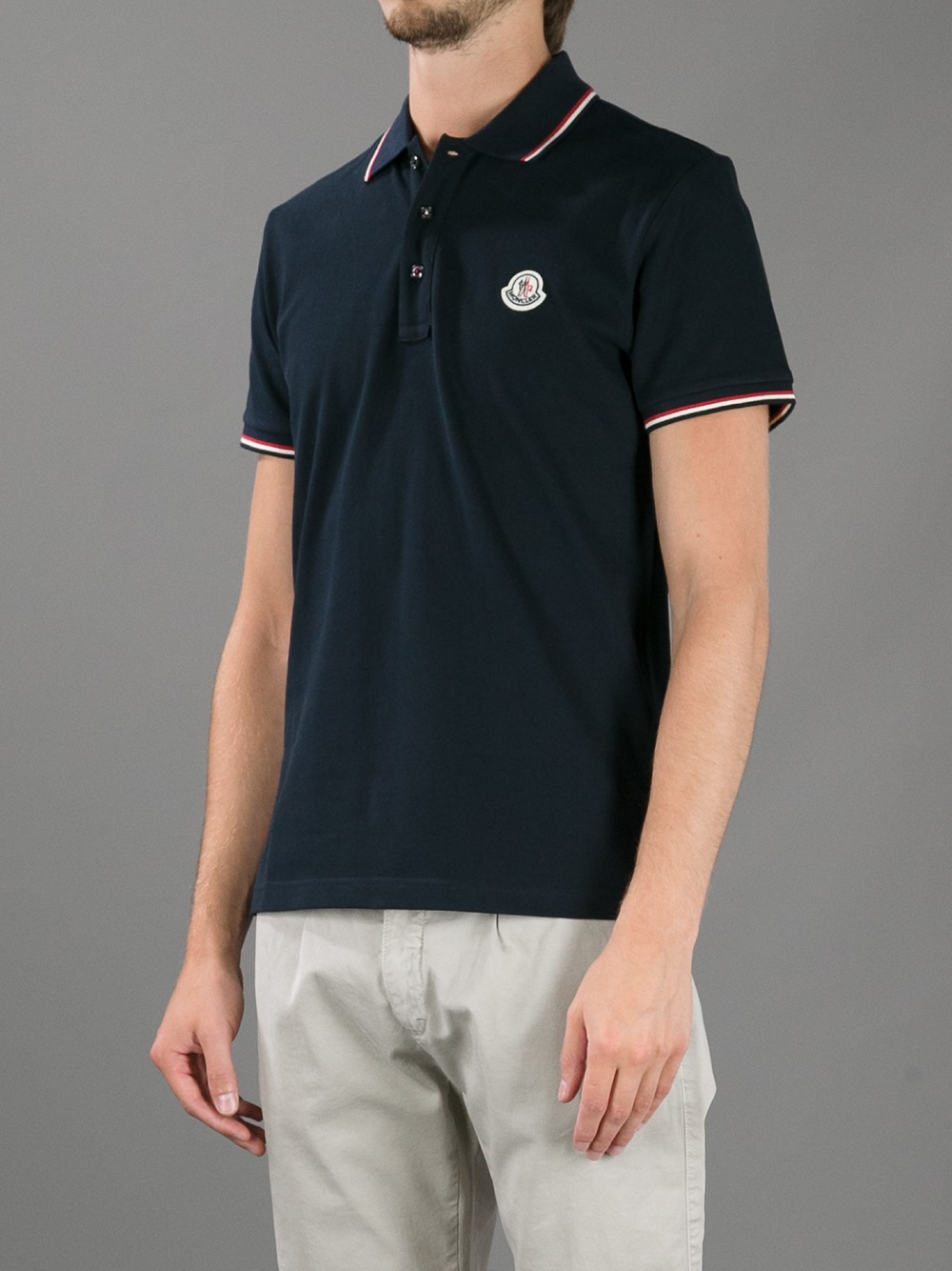 moncler polo shirt farfetch