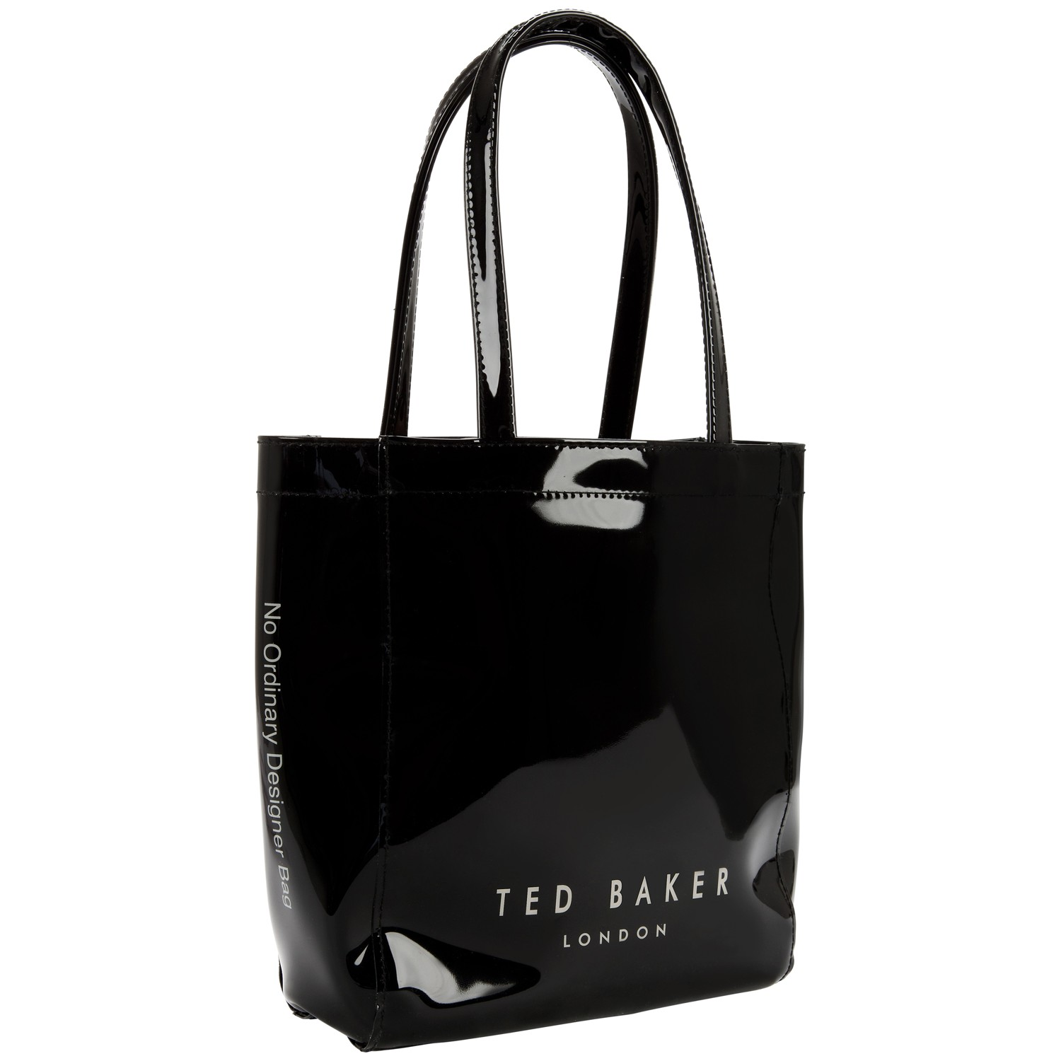 0d24a184cd1fd4 Ted Baker Tinicon Bow Icon Shopper Bag in Black - Lyst
