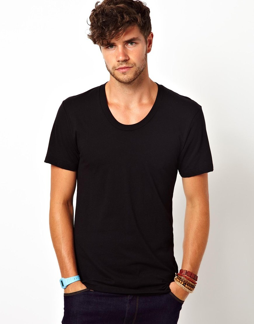 Black t shirt for mens - Gallery