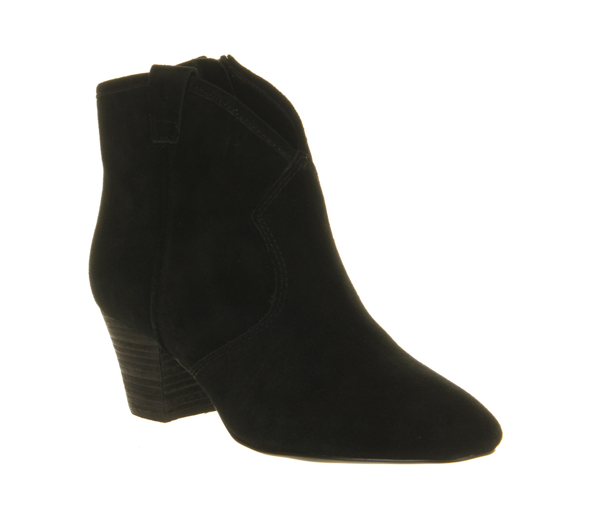 ash hurrican suede ankle boots in black lyst