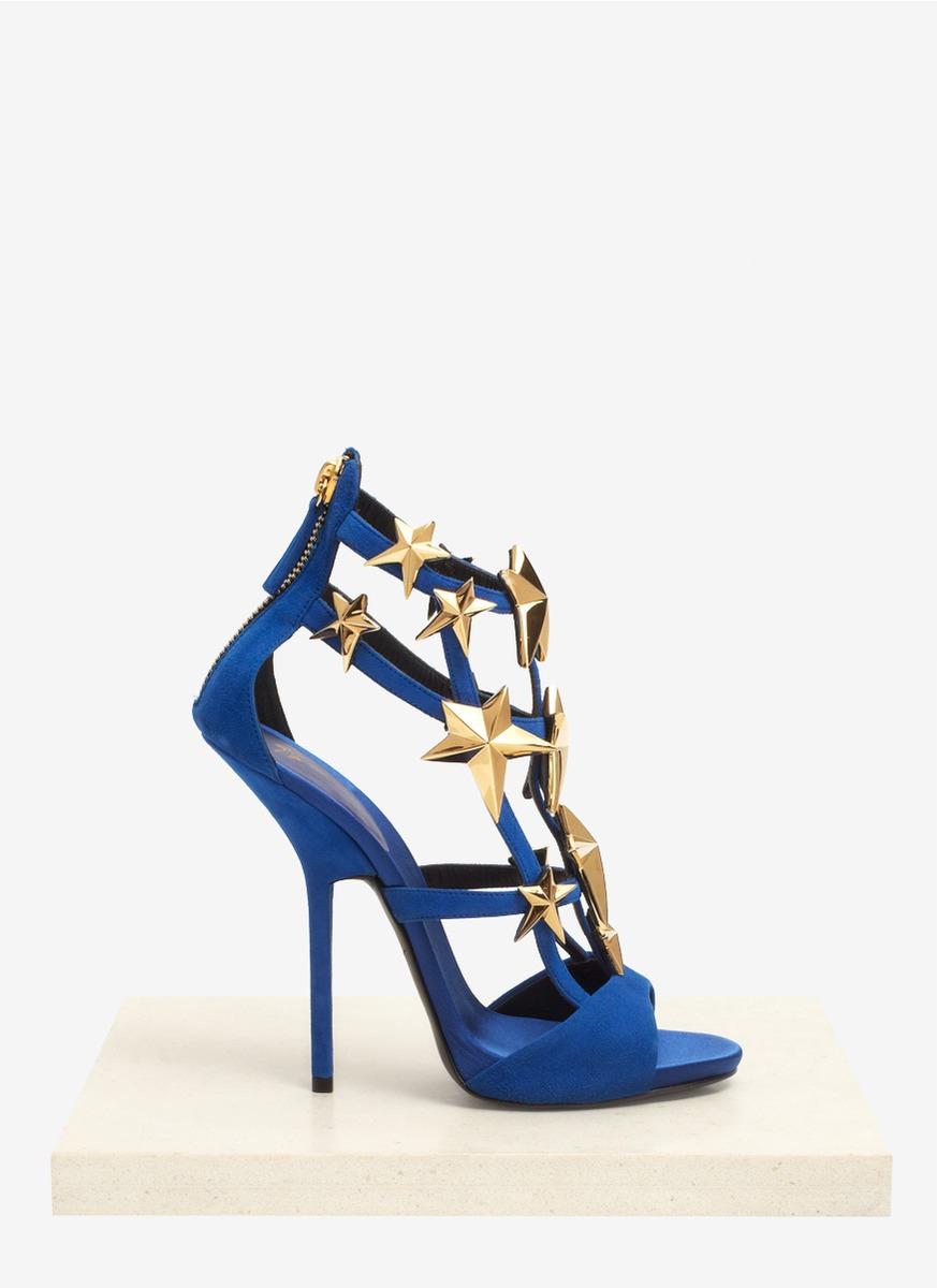 star strap stiletto sandals - Blue Giuseppe Zanotti z04mNi5