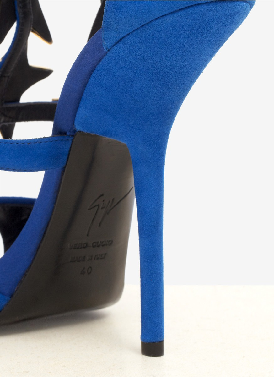 Giuseppe Zanotti Alien Star Embellished High Heel