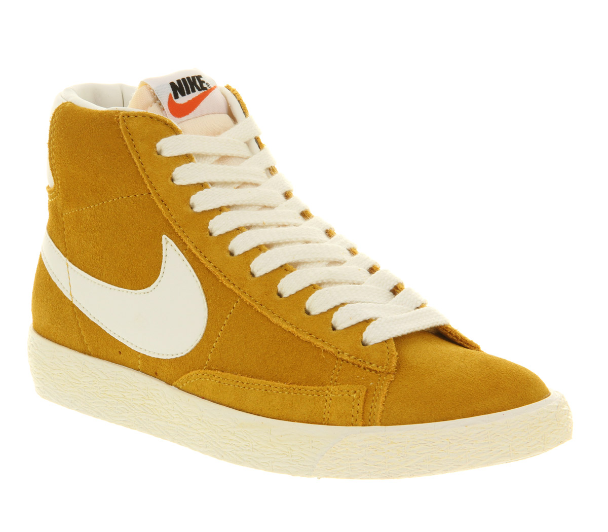 purchase cheap 89eed b5065 Nike Blazer Hi Suede Vintage Gold Dart Sail Exclusive in Yellow for ...