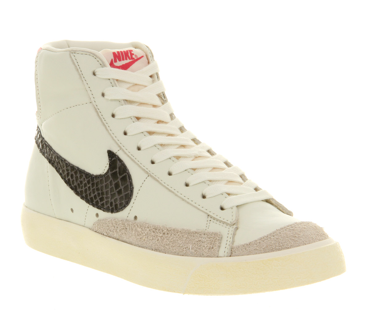 buy popular 428d6 f1917 Nike Blazer Mid 77 Sail Pink Snake in Natural - Lyst