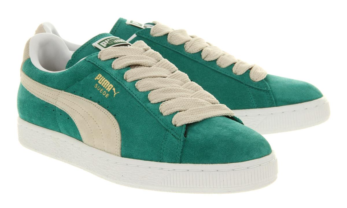 puma suede classic green