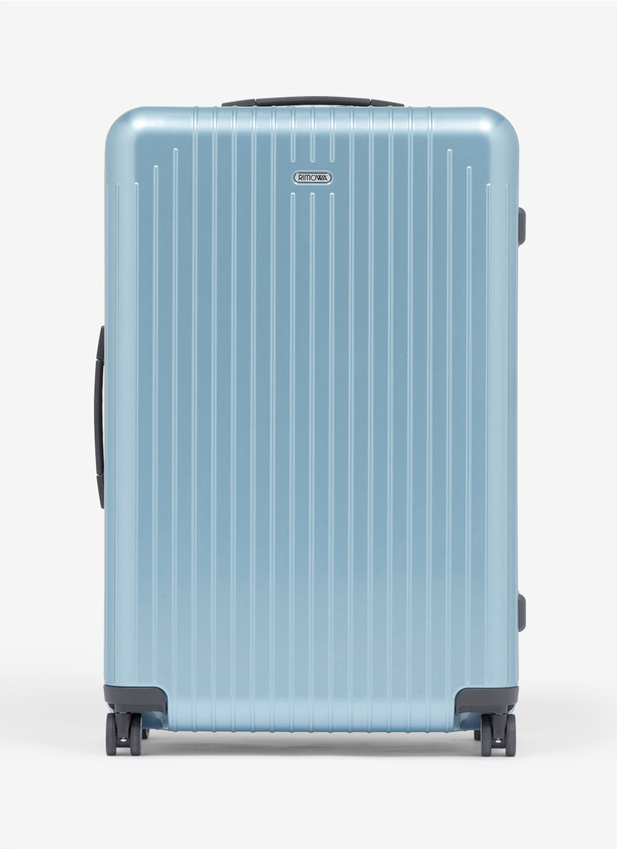 lyst rimowa salsa air multiwheel ice blue 94 litre in blue. Black Bedroom Furniture Sets. Home Design Ideas