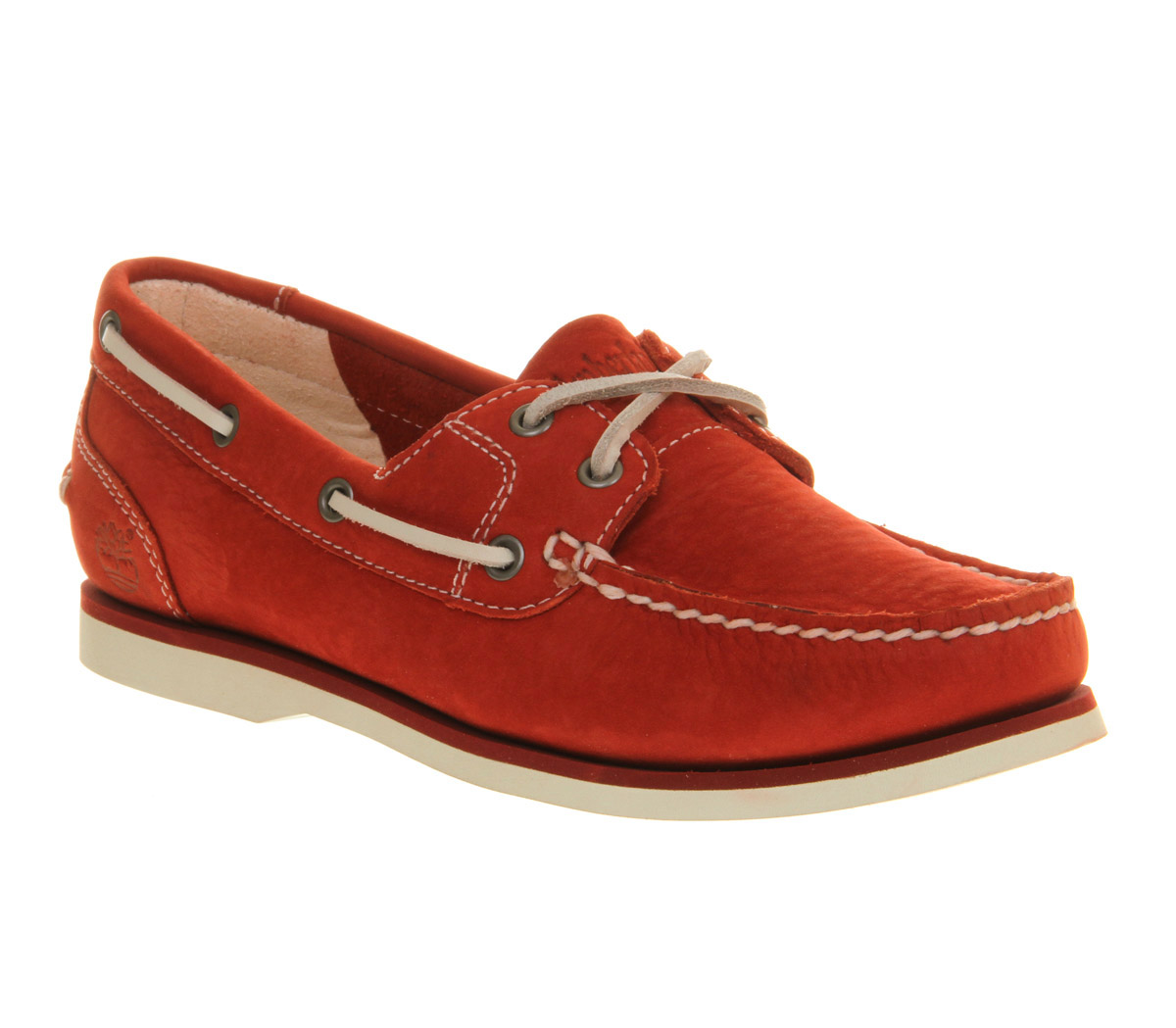 Timberland Womens Boat Shoe Classic Dark Red in Red | Lyst