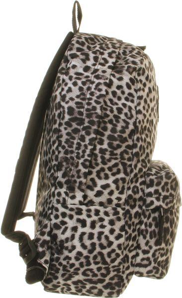leopard ryggsäck vans