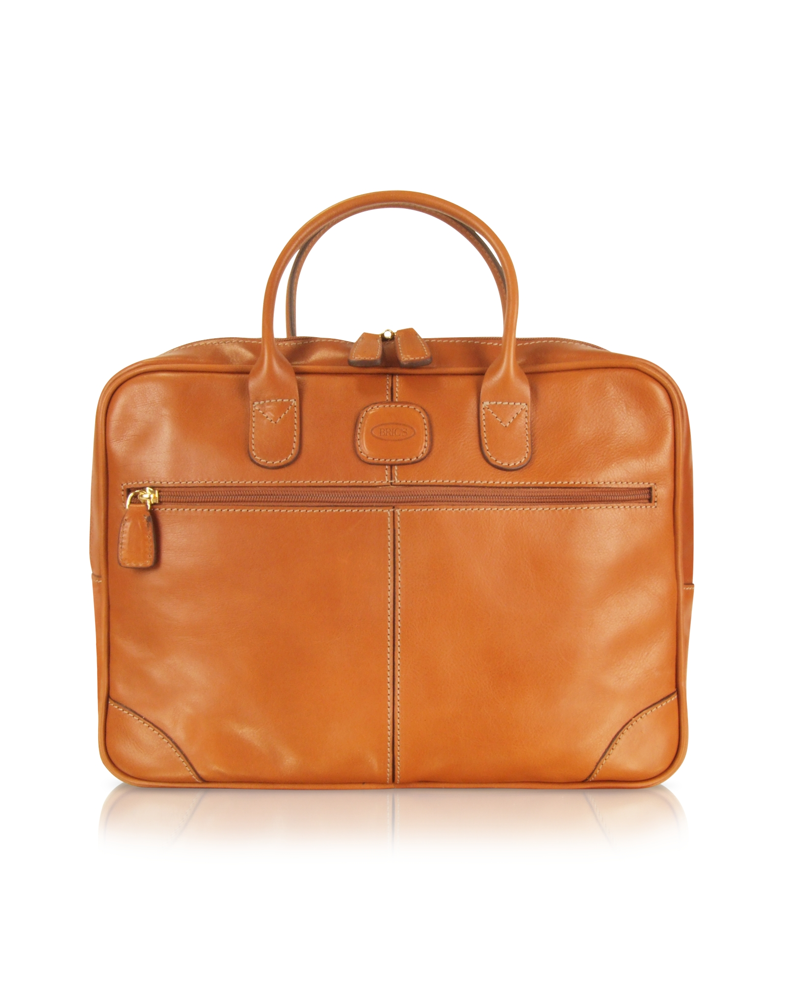 Bric's Life Leather - Soft Briefcase in Brown for Men | Lyst