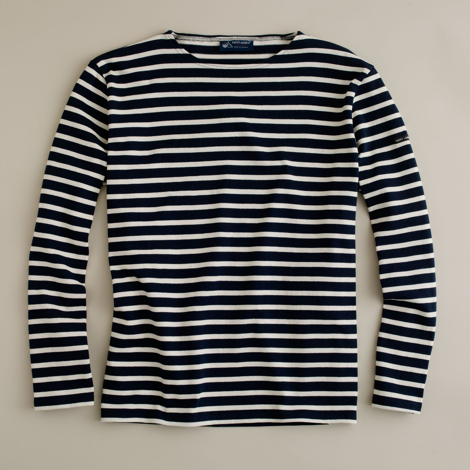 Saint james unisex meridien ii nautical t shirt in for St james striped shirt