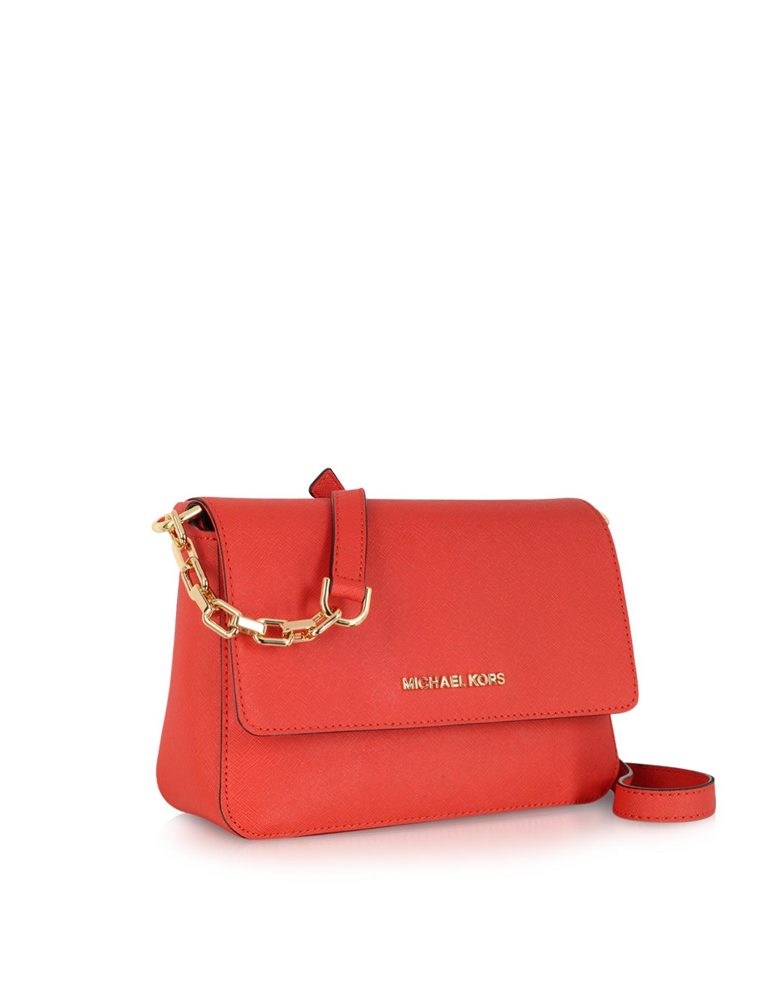 сумка Michael Kors Selma Mini : Selma saffiano leather flap crossbody bag shoulder