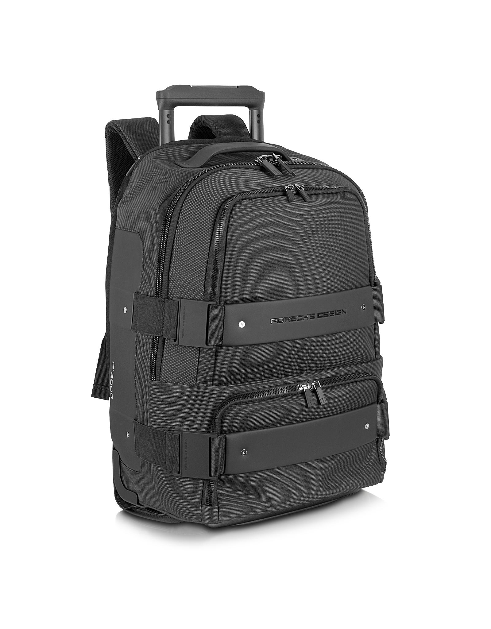 lyst porsche design twin backbag black backpack carry. Black Bedroom Furniture Sets. Home Design Ideas