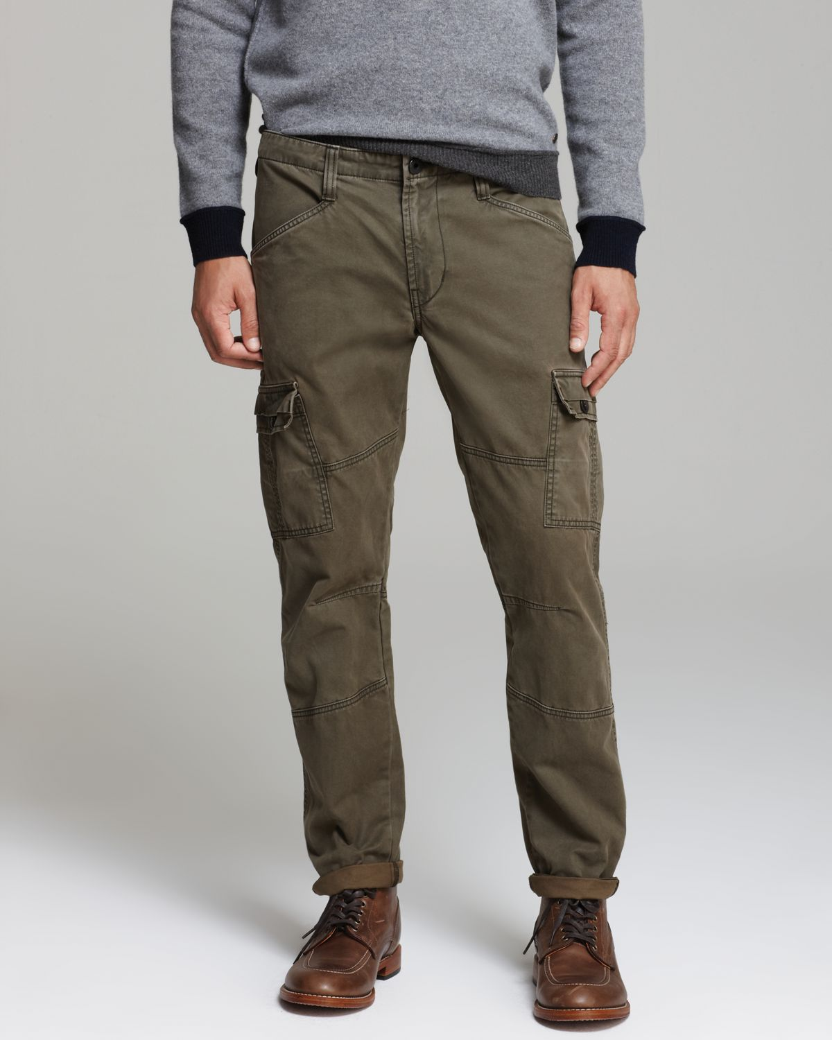 J brand Trooper Slim Cargo Pants in Green for Men | Lyst
