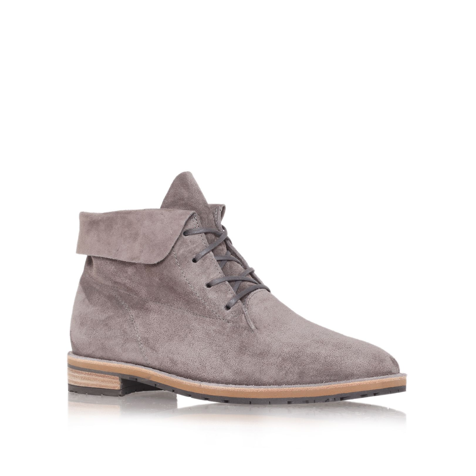 paul green marie rose boots in gray lyst. Black Bedroom Furniture Sets. Home Design Ideas