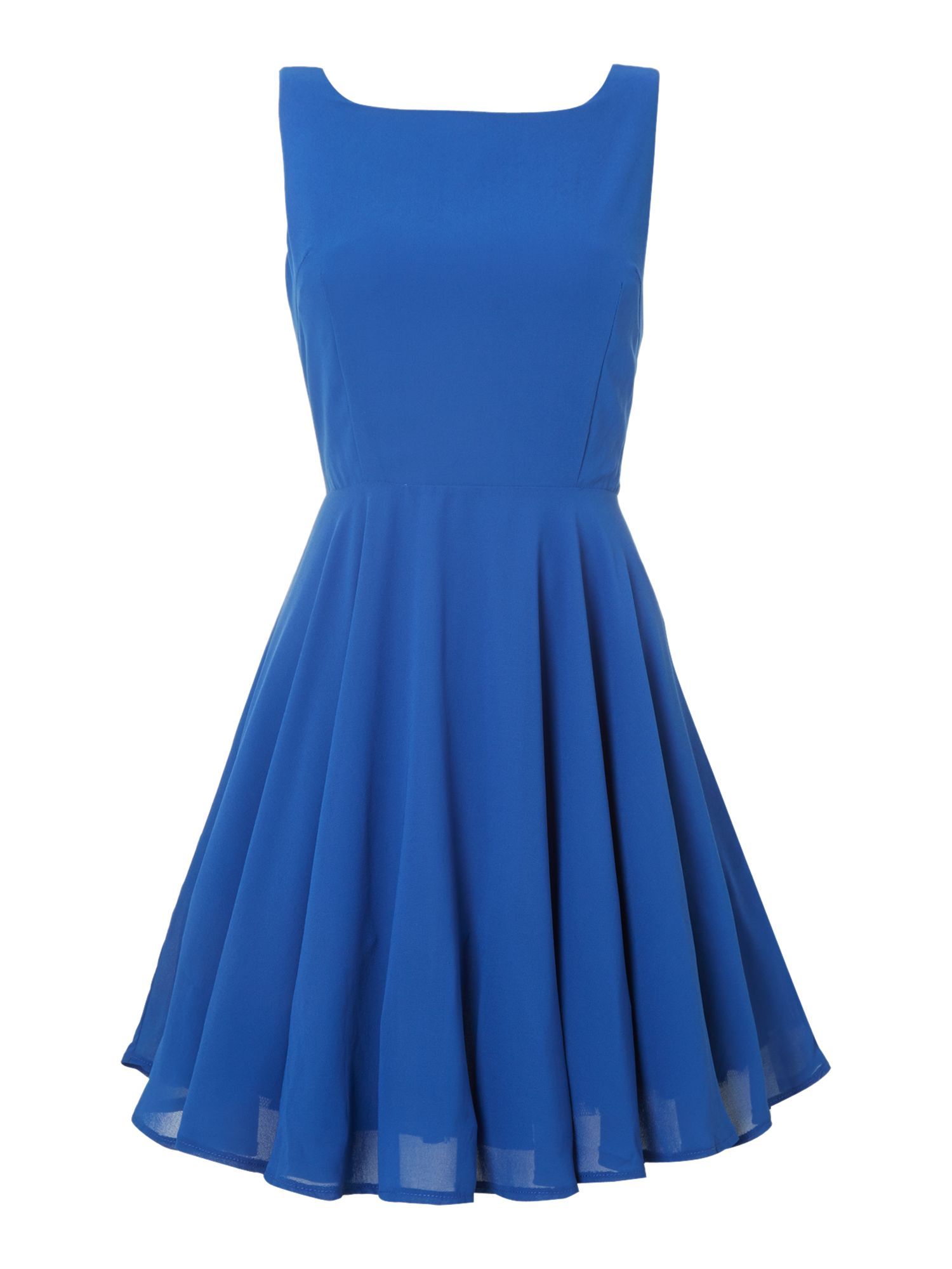 Plain Blue Dress