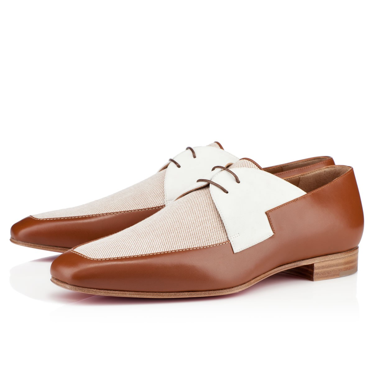 Christian Louboutin New Orleans Flat in Brown for Men (red) | Lyst