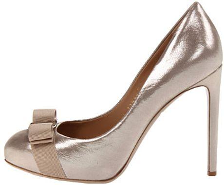 Ferragamo Rilly in Gold (silver) - Lyst