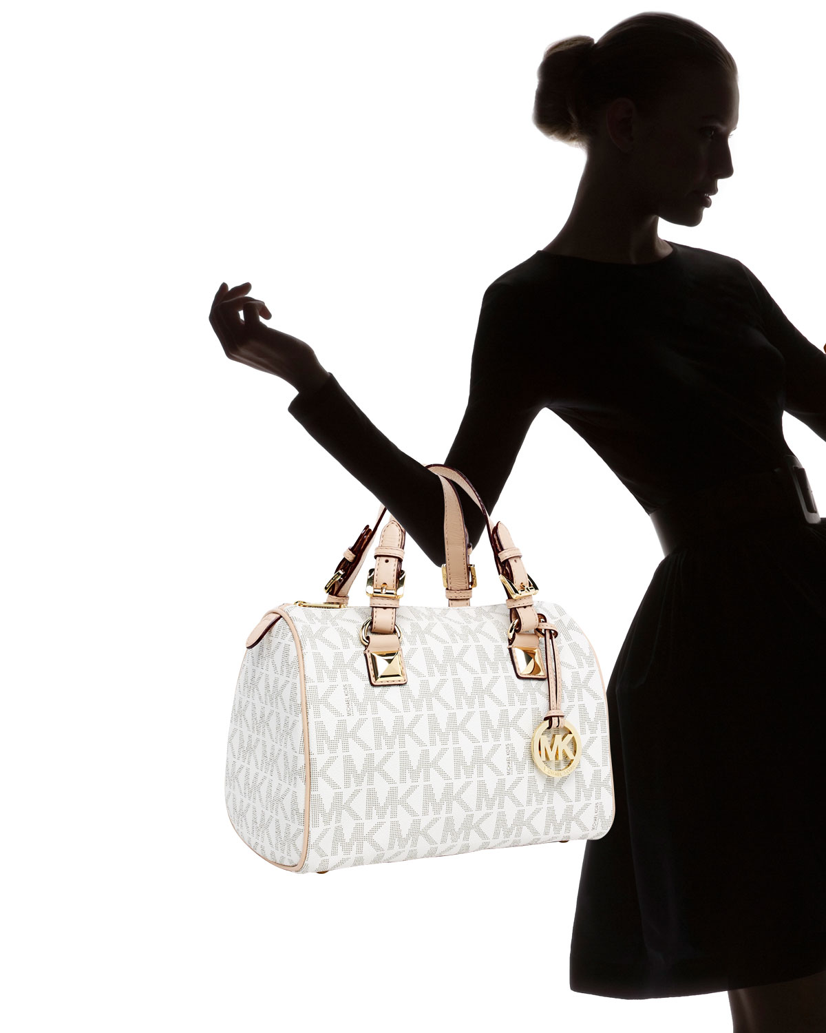 2f76e44c879aa7 ... sweden gallery. previously sold at neiman marcus womens michael kors  grayson 7ad50 78aef