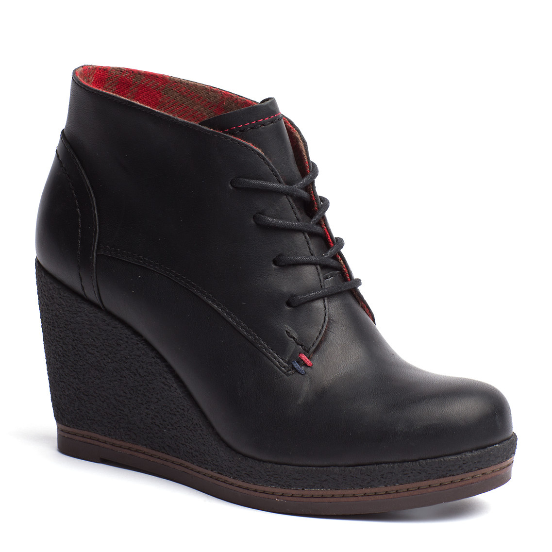 tommy hilfiger natalie ankle boots in black lyst. Black Bedroom Furniture Sets. Home Design Ideas
