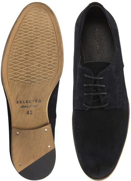 Shoes Homme Homme Suede Derby Shoes in