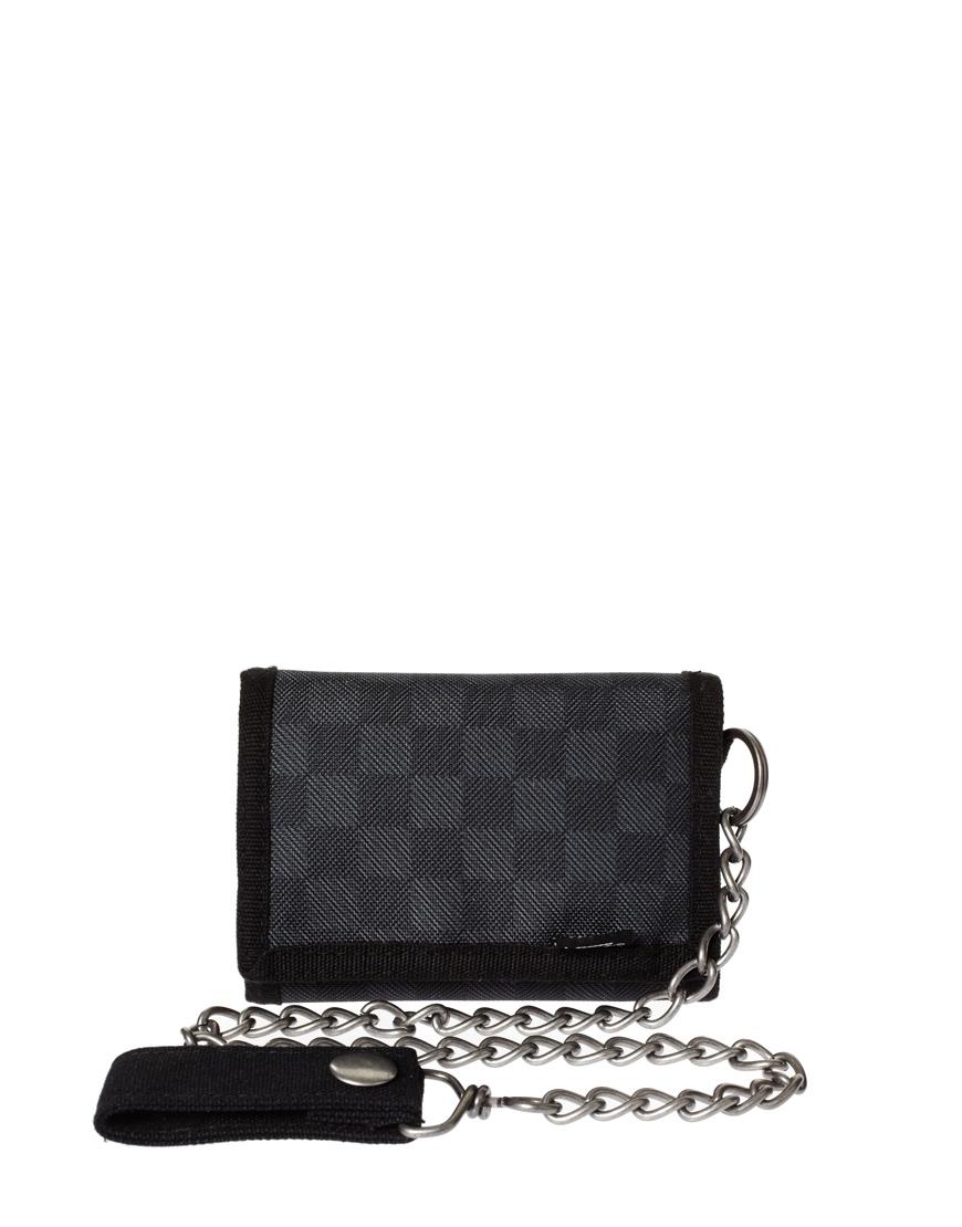 Lyst Vans Carson Chain Wallet In Black For Men