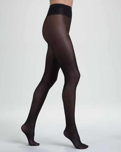 Wolford pantyhose neon black Amateur Cheating