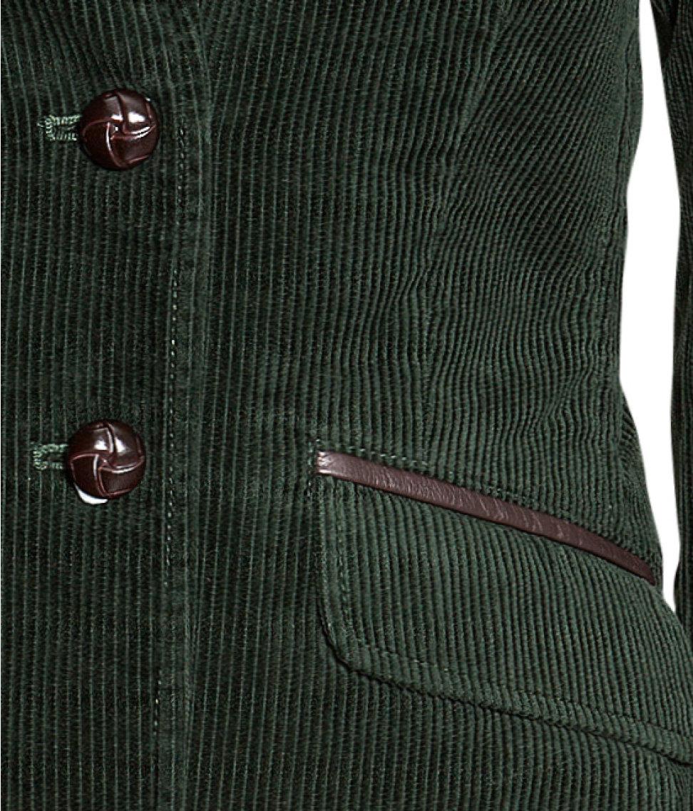 Cord jacket hm