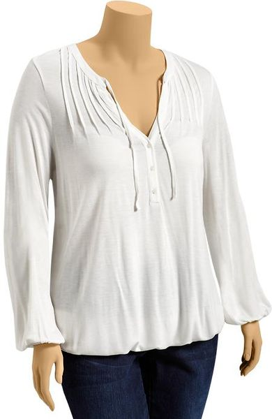 White Peasant Blouse Old Navy 92