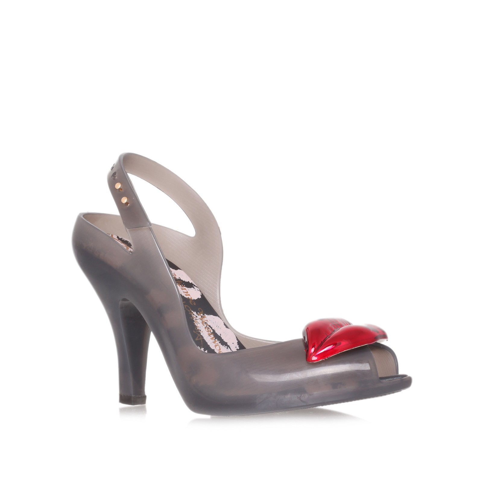 c412c406f211 Melissa + Vivienne Westwood Anglomania Vw Lady Dragon Lips in Gray ...