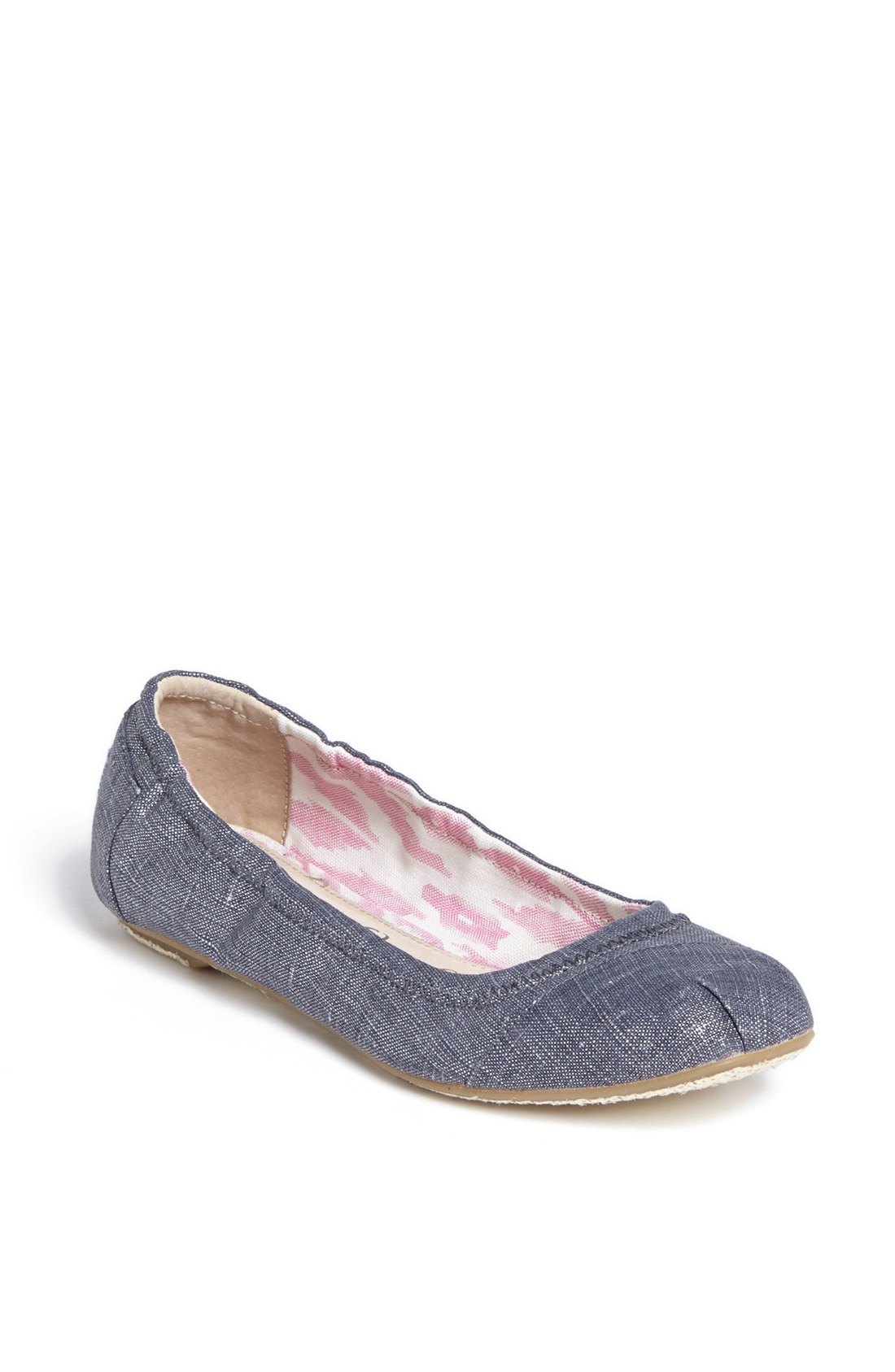 how to clean linen toms shoes