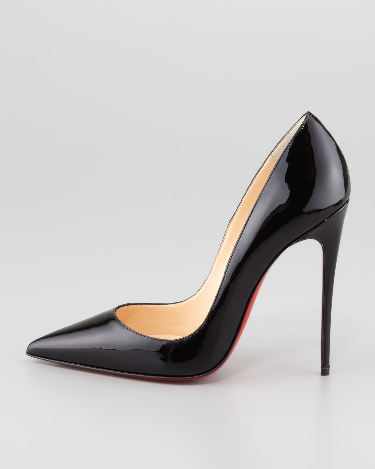 Christian Louboutin Suede Slingback Pumps Christian