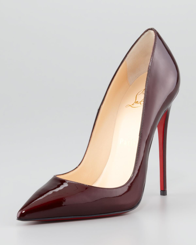 b7148bda18e Artesur » christian louboutin pointed-toe pumps Red leather